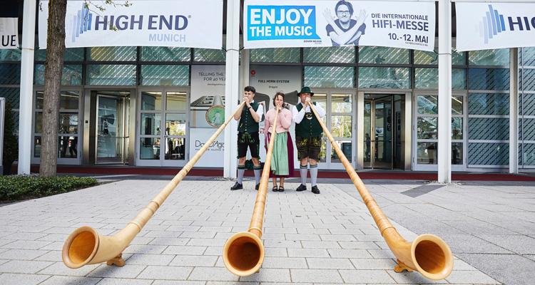 HIGH END Messe 2021 Absage Alphorn Konzert Bayern