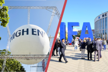 IFA 2021 HIGH END Messe Funkaustellung Corona