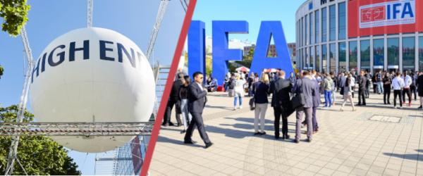 IFA 2021 HIGH END Messe Funkaustellung Corona