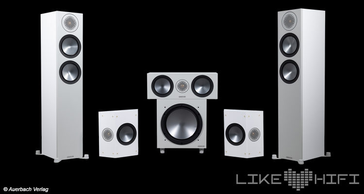 Monitor Audio Bronze Cinema 200 5.1-Lautsprecher-Set Test Review Speaker