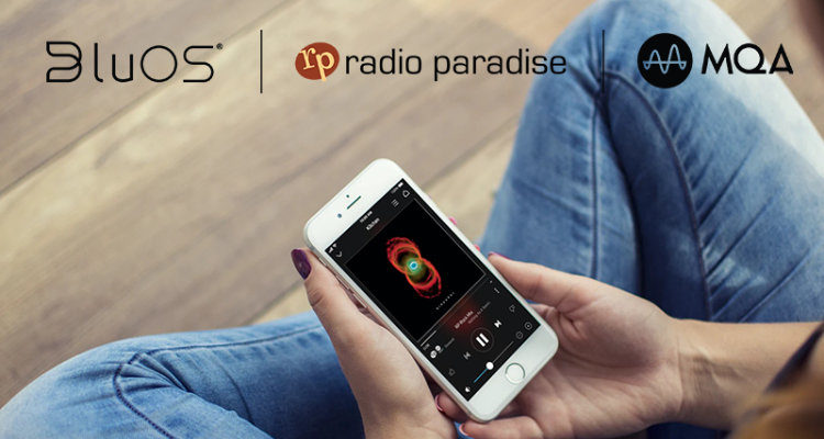 Neues BluOSTM - technische Verbesserungen und MQA Audio-Angebot