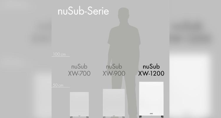 Test Nubert Subwoofer nuSub XW-1200, 900 und 700 Anschluss Review Vergleich Größe Heimkino Lautsprecher