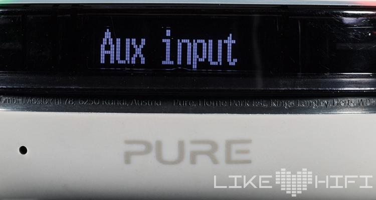 Pure StreamR Splash Bluetooth-Lautsprecher / Smart Radio Test Review Outdoor Speaker Aux Input