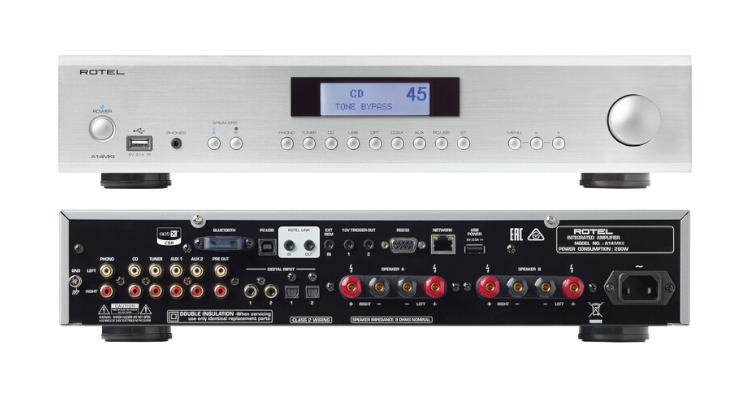 Rotel Verstärker A14MKII HiFi Amplifier News Test Review Michi Internal A14