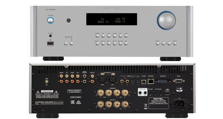 Rotel Verstärker RA-1572MKII HiFi Amplifier News Test Review Michi