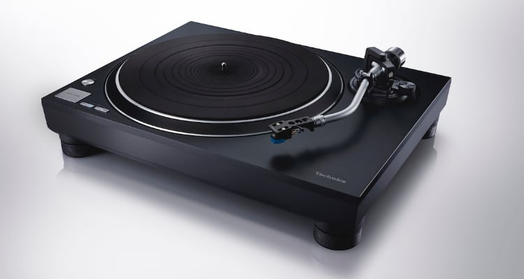 Plattenspieler Technics SL-100C  Turntable HiFi Black Test News
