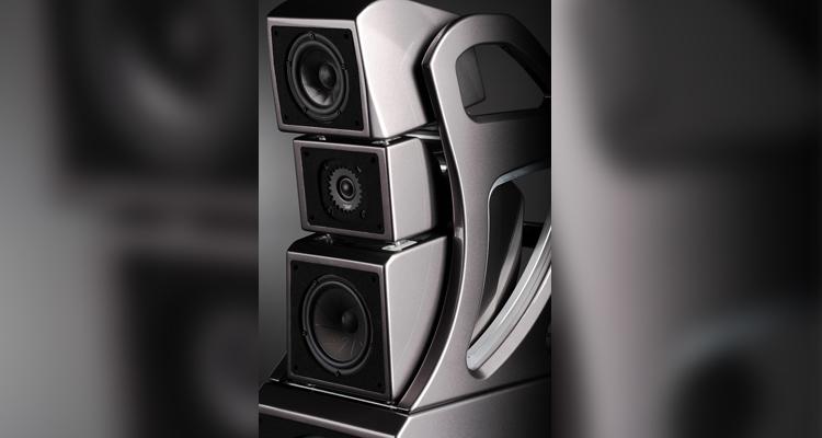 Wilson Audio Alexx V High End Lautsprecher Speaker Grey Ivory Test Review Price