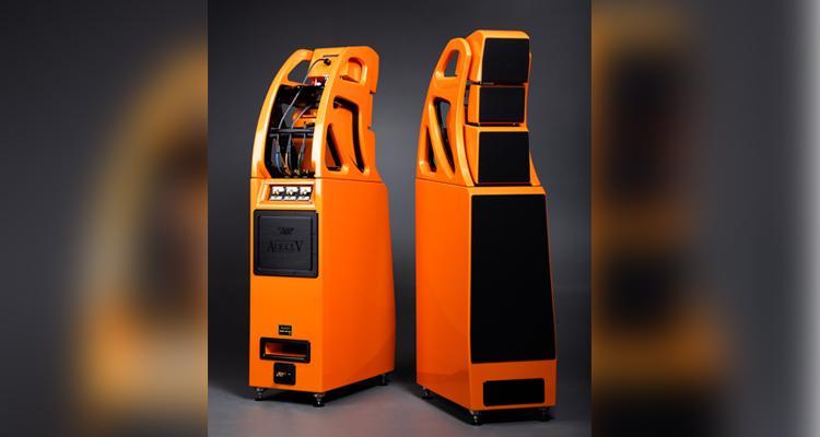 Wilson Audio Alexx V High End Lautsprecher Speaker Orange Bergamot Test Review Price