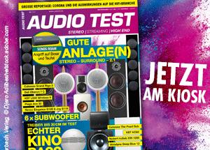 AUDIO TEST Magazin Ausgabe 0421 2021 Mai Subwoofer Test Sonos Review Magazin