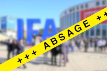IFA 2021 Messe Berlin Funkausstellung Absage Corona