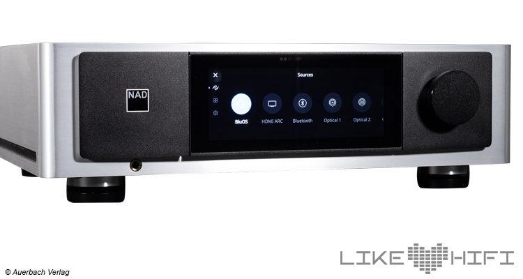 Test Review NAD M33 digitaler Stereo Vollverstärker BluOS Amp Streaming