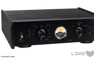 TEAC PE-505 Test Review Phono-Vorverstärker Phonovorstufe