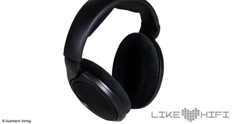 Ohrmuscheln Sennheiser HD 560S Test offene Over-Ear-Kopfhörer Headphones Review