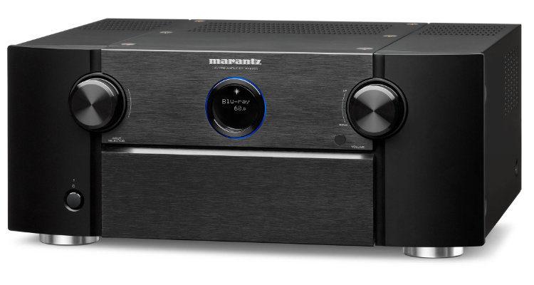 AV-Receiver Marantz AV8805A AV-Vorverstärker News Test Review Front Display