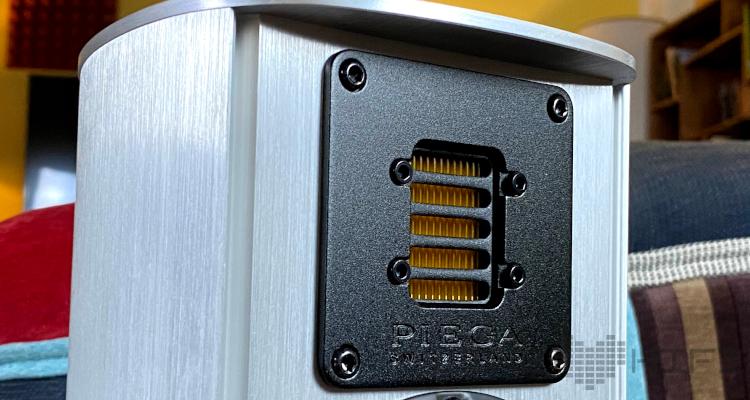 Piega Ace 30 Regallautsprecher 2-Wege Test Review Speaker Aluminium AMT-1 Hochtöner Bändchen