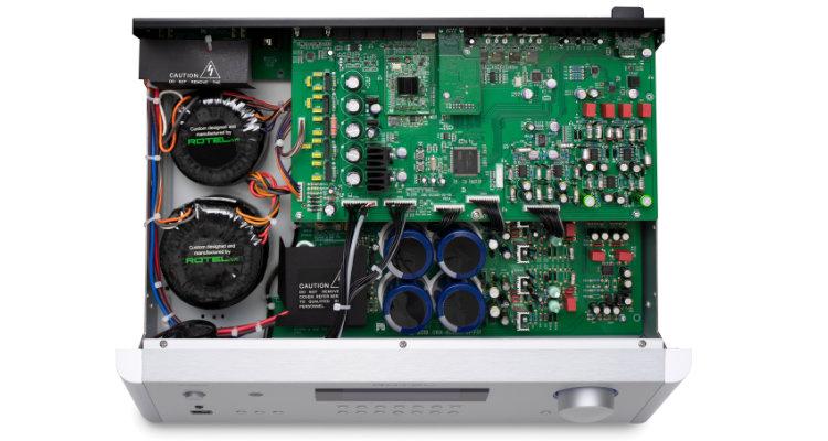 Innenansicht Rotel RC-1590MKII Vorverstärker Amp Preamp