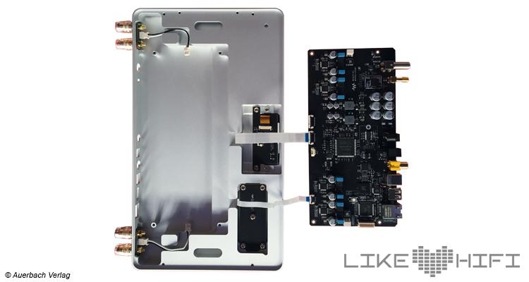 Waversa Wslim LITE Streaming-Verstärker Test Review Innen Platine Prozessor