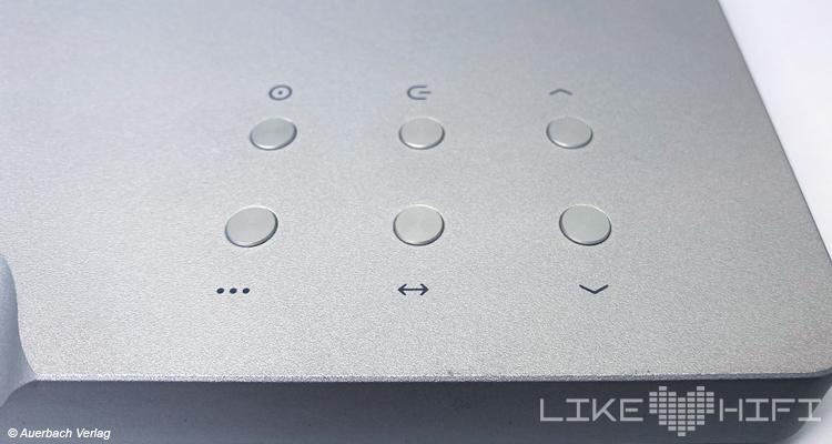 Waversa Wslim LITE Streaming-Verstärker Test Review Tasten