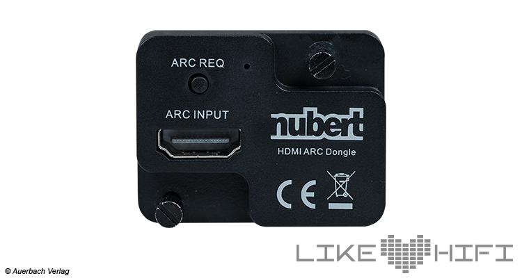 Test Nubert nuConnect ampX digitaler Vollverstärker Review Dongle HDMI