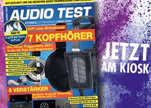 AUDIO TEST Ausgabe 05/2021 Kopfhörer Test Review Verstärker Magazin