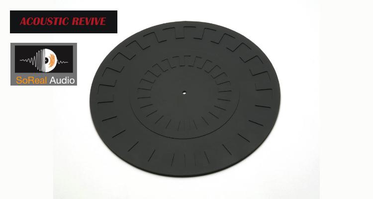 Acoustic Revice Plattentellerauflage RTS-30 Mat Matte