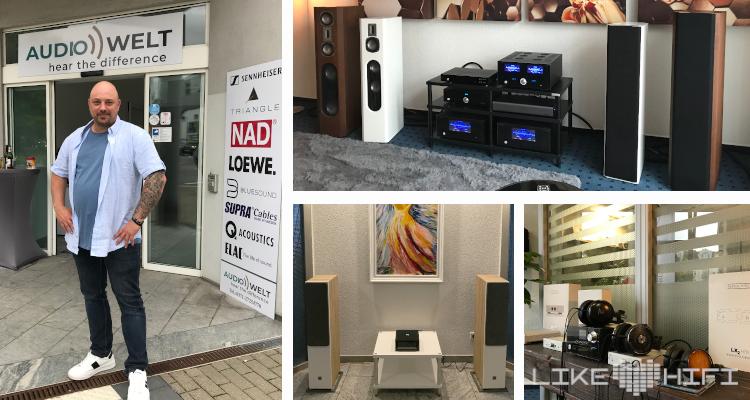 Audio Welt Chemnitz Thomas Thiele Laden Geschäft HiFi Store Kaufen Lautsprecher