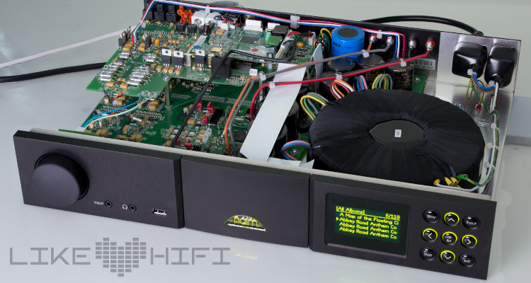 Test Review Naim SuperUniti Verstärker Streamer All-In-One-Player Offen Chip