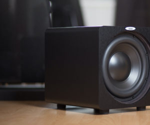 Velodyne Acoustics Subwoofer Deep Blue DB-8 klein kompakt Audio Reference