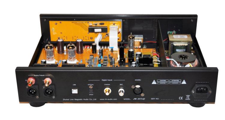 Line Magnetic LM-32DAC Röhren-DA-Wandler Technik