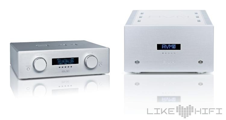 AVM Ovation PA8 Vorverstärker & AVM Ovation SA8.2 Stereo Endstufe Endverstärker Amp Test Klassiker
