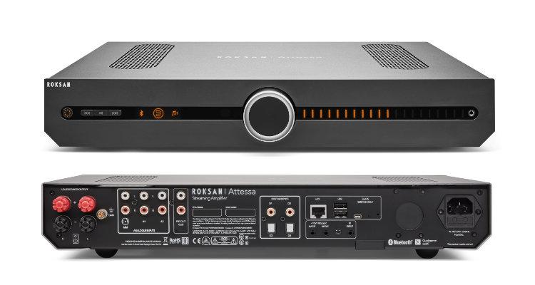 Roksan Attessa Streaming-Vollverstärker Streaming Amp