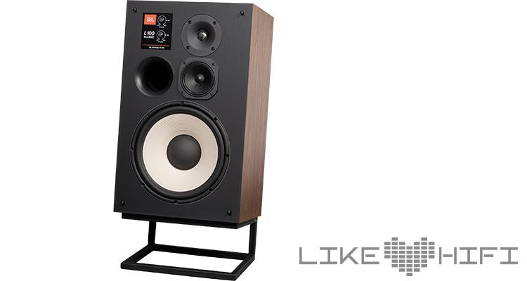 Test JBL L100 Classic Retro Lautsprecher Speaker Vintage HiFi Review Front