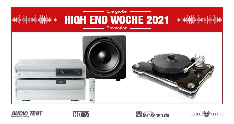 Audio Reference VTL VPI Velodyne Wilson Audio - HIGH END WOCHE 2021