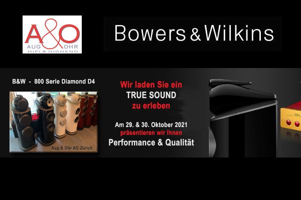 Aug und Ohr Event Bowers Wilkins Dartzeel 2021