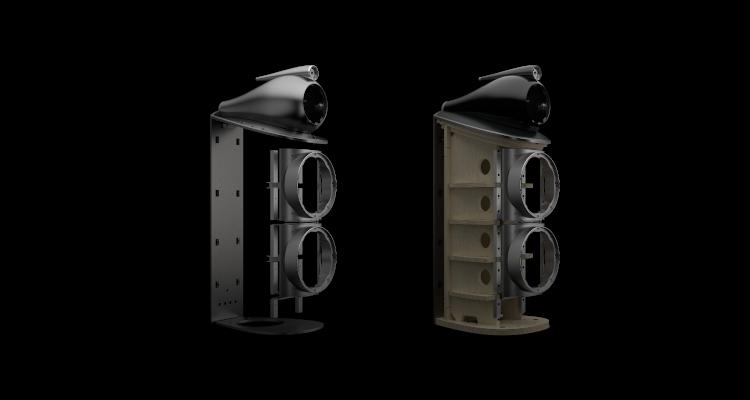 Bowers & Wilkins 800 Serie Diamond (D4) B&W Lautsprecher Speaker High End News Matrix Gehäuse