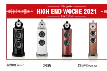 Bowers Wilkins 800 D4 Diamond Serie Lautsprecher Speaker - HIGH END WOCHE 2021