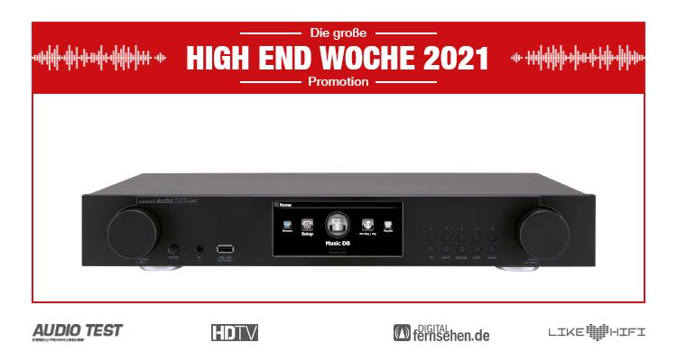 Cocktail Audio N25Amp Streamer Streaming Amp schwarz black High End woche 2021