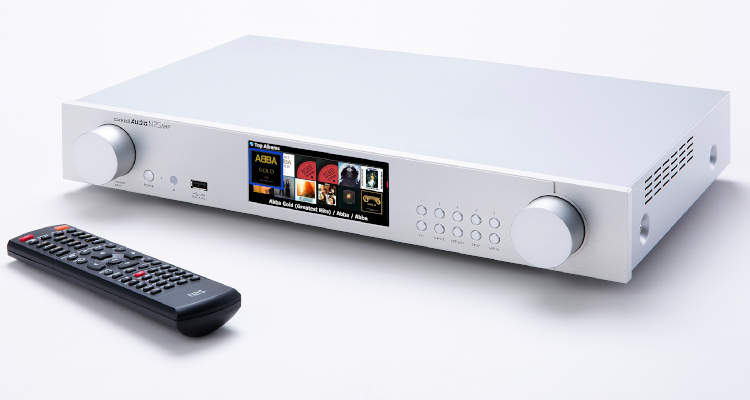 CocktailAudio  Netzwerkstreamer N25Amp Amp digitale Endstufe Streamer silver silber 2021