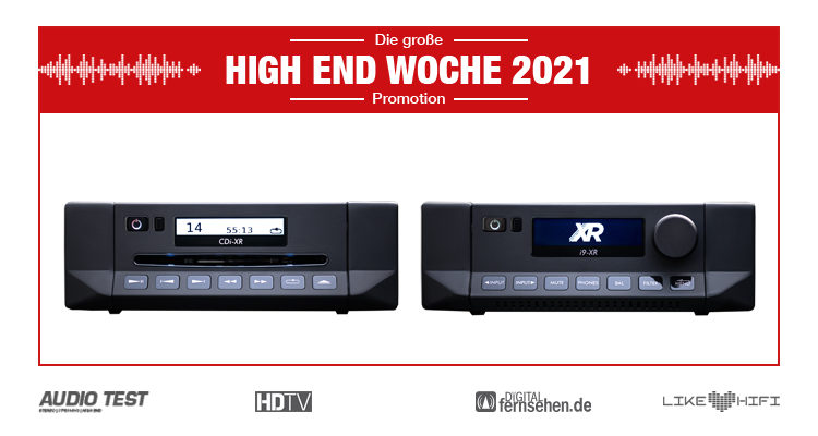 Cyrus XR Serie Amp CD Player - HIGH END WOCHE 2021