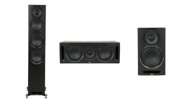 ELAC Uni-Fi Reference Lautsprecher UBR62 Regal-, UFR52 Stand- und UCR52 Center-Lautsprecher