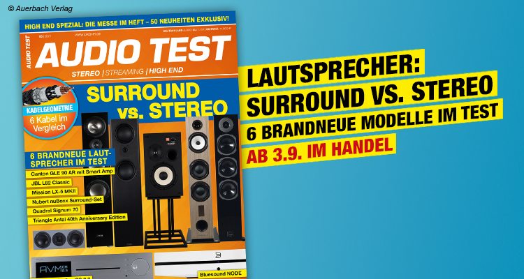 AUDIO TEST Magazin Ausgabe 0621 2021 September Lautsprecher Surround Stereo Test Review