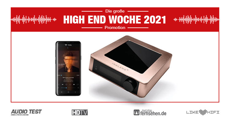 Inklang Ayers HD 10 Streamer Amp - HIGH END WOCHE 2021