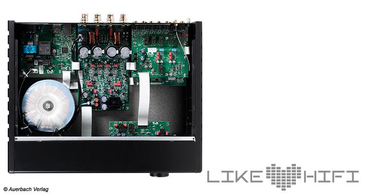 Test: T+A PA 1100 E Vollverstärker mit DAC Review Amp Innen Wandler