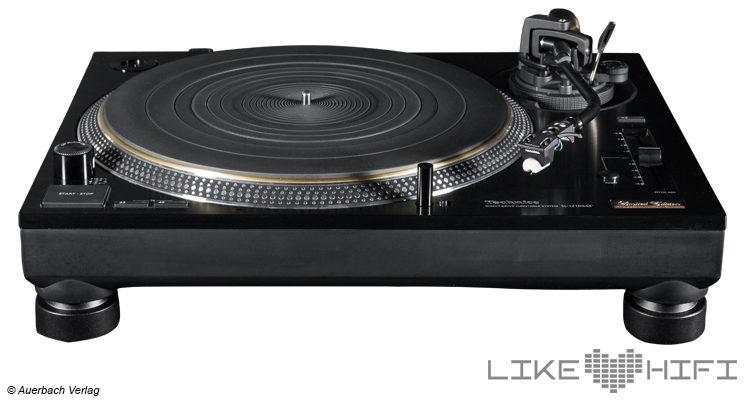 Test Technics SL-1210GAE Limited Edition Plattenspieler – Schwarz black Review 1200