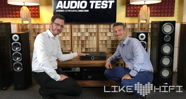 Preview Roksan Attessa Streaming Amplifier Verstärker Test Review Jens Ragenow Sylvain Quainon
