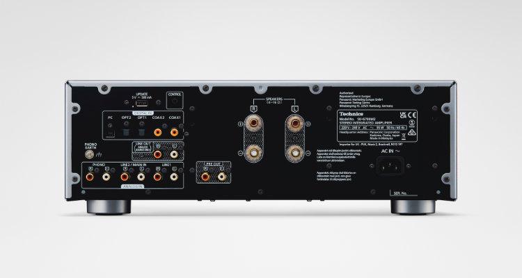 Technics Vollverstärker SU-G700M2 - Rückseite Grand Class Serie Amp 2021