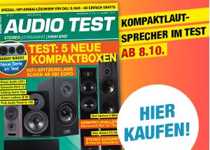 AUDIO TEST Ausgabe 07/2021 Lautsprecher Stereo Surround Test Review Magazin