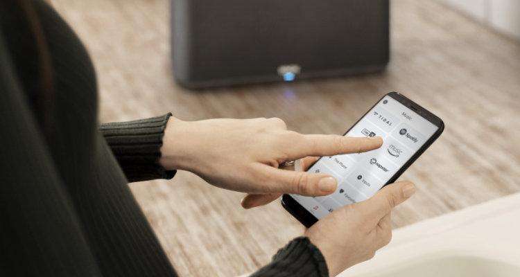Firmware-Update Denon Home Wireless-Lautsprecher jetzt mit Alexa & 5.1-Surround-Sound HEOS App im neuen Look