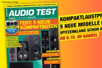 AUDIO TEST Magazin Ausgabe 0721 2021 Oktober Lautsprecher Surround Stereo Test Review