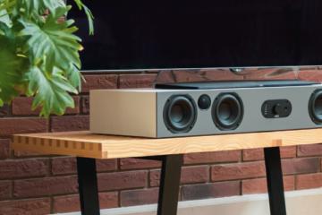 Nubert nuBoxx AS-425 max Eisgrau Soundbar Lautsprecher Aktivlautsprecher